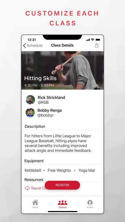Uplift - Live Sports Training screenshot-4
