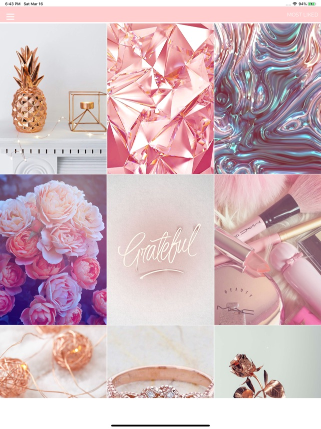 Rose Gold Wallpapers On The App Store