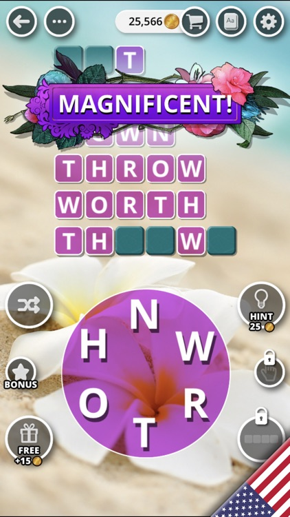 Bouquet of Words - Word Game screenshot-7