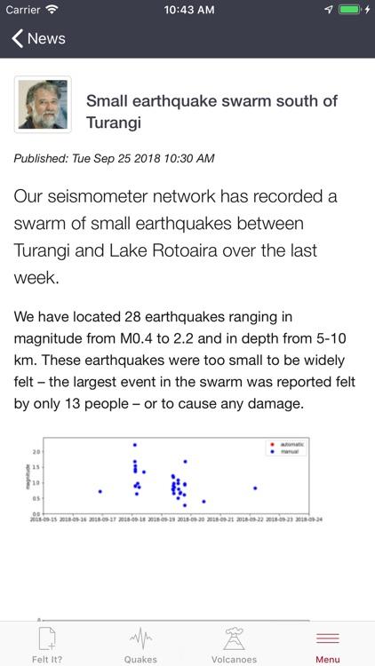 GeoNet Quake screenshot-8