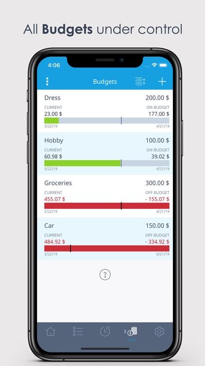 MoneyControl Spending Tracker screenshot-6