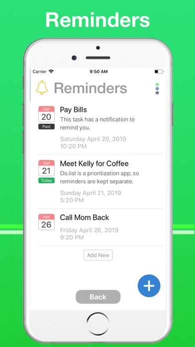 Do.List: To Do List Organizer Screenshots