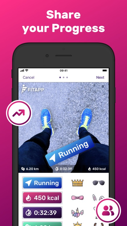 Jogging Tracker Running FITAPP screenshot-4