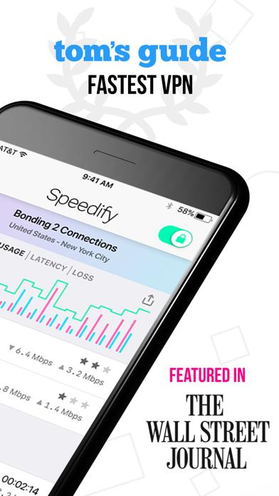 Speedifyのおすすめ画像2