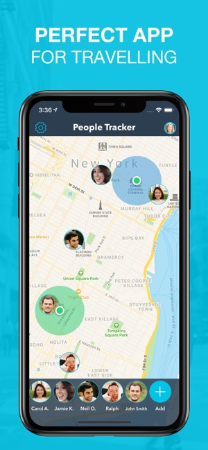 People Tracker - GPS Locator Screenshot
