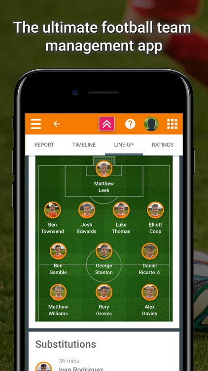 TeamStats - Football Team App screenshot-0