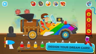 Racing Car Game for children screenshot two