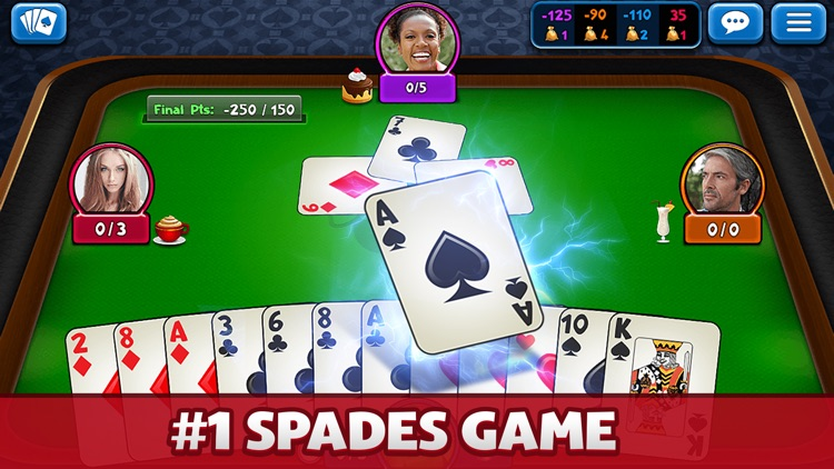 Spades Plus - Card Game screenshot-0