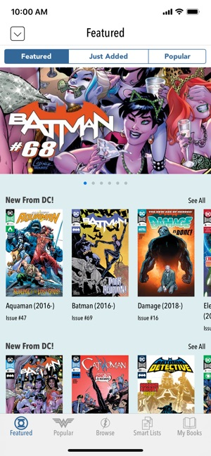 DC Comics on the App Store
