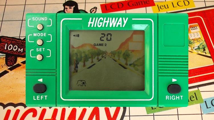 Highway LCD Retro game screenshot-4