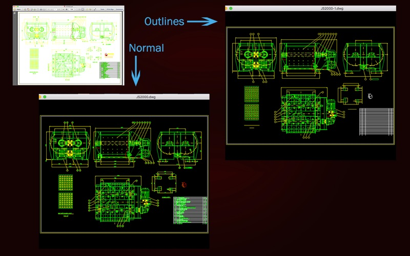 Dwg Import review screenshots