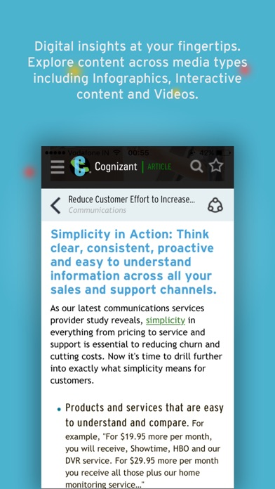 Cognizant Digital Perspectives screenshot two