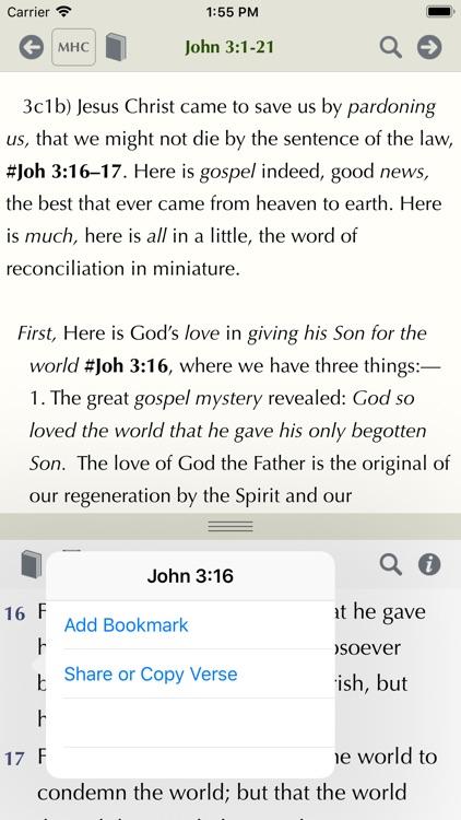 Matthew Henry Study Bible screenshot-3