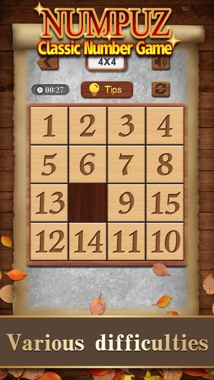 Numpuz:Classic Number Game screenshot-0