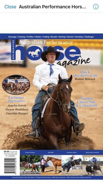 Australian Performance HorseScreenshot of 6