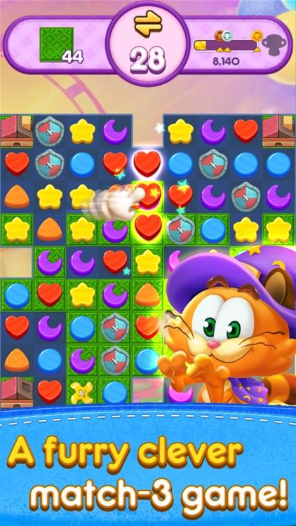 Magic Cat Match: Swipe & Blast