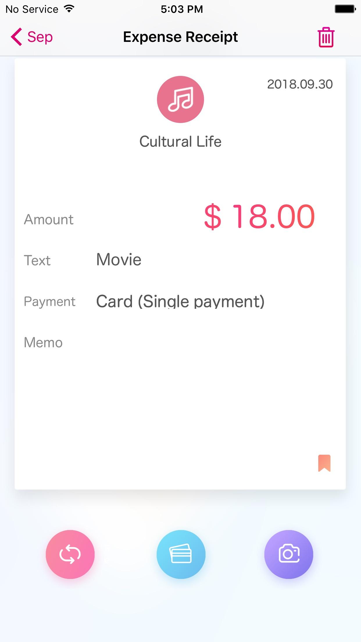 Weple Money Pro Screenshot