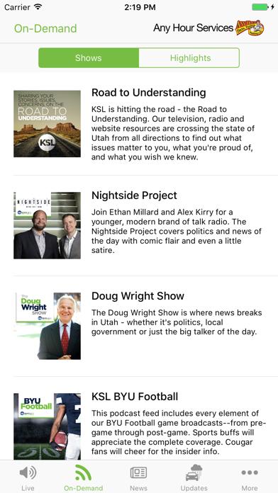 KSL News Radio screenshot two