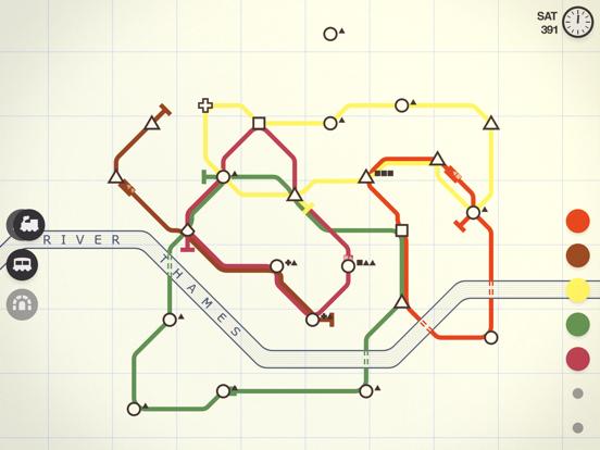 Mini Metro screenshot 2