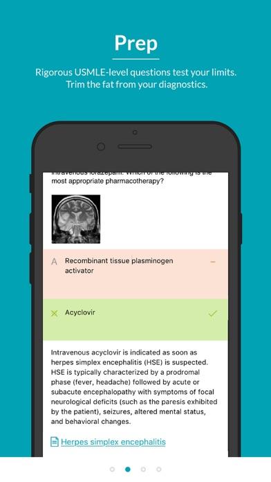 AMBOSS Knowledge USMLE Screenshot