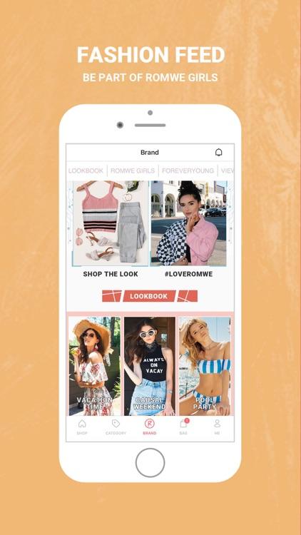 ROMWE - Fashion Store screenshot-4