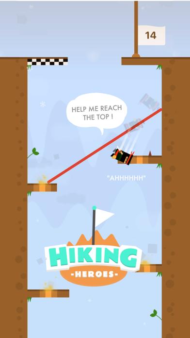 Screen Shot Hiking Heroes ! 0