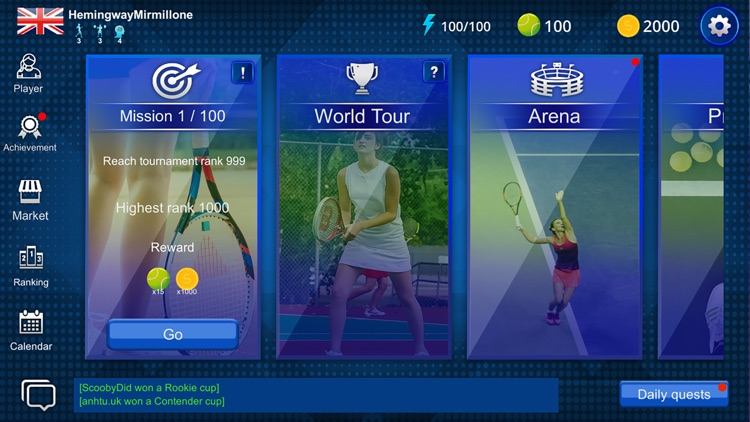 Real Tennis Manager