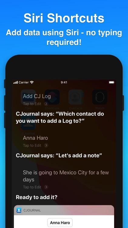 Contacts Journal CRM screenshot-8