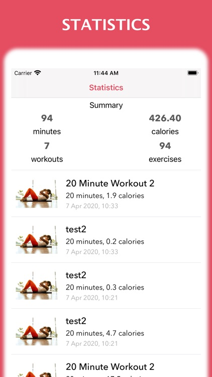 Workout for women at home screenshot-5