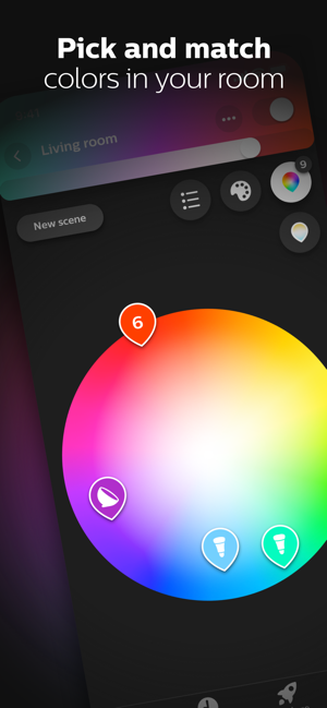 ‎Philips Hue Screenshot