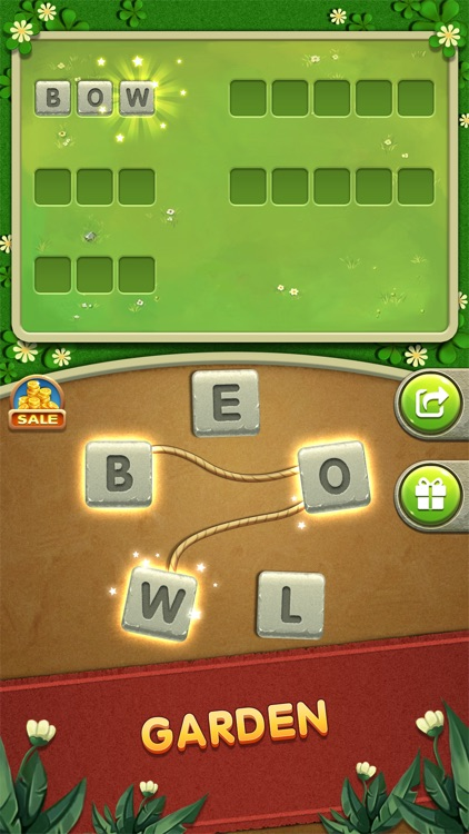 Word Home ® Connect Letters