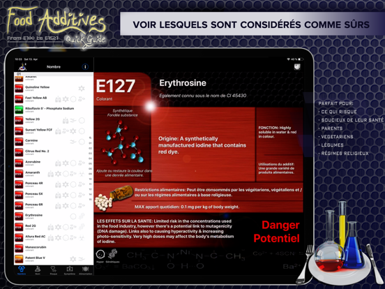 Screenshot #6 pour Additifs Alimentaires 2