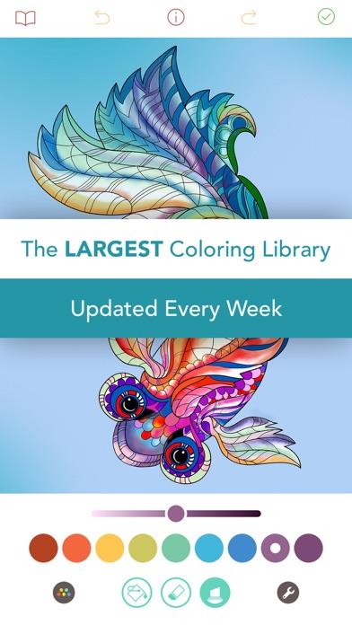 Pigment - Adult Coloring Book app image