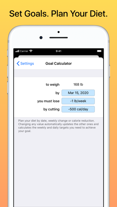 Weight Diary Free screenshot