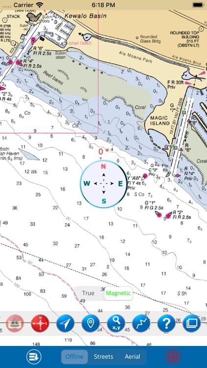 Oahu (Hawaii) – Marine GPS Map screenshot-3