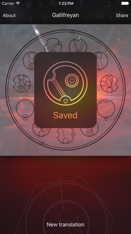 Gallifreyan Translator screenshot-4