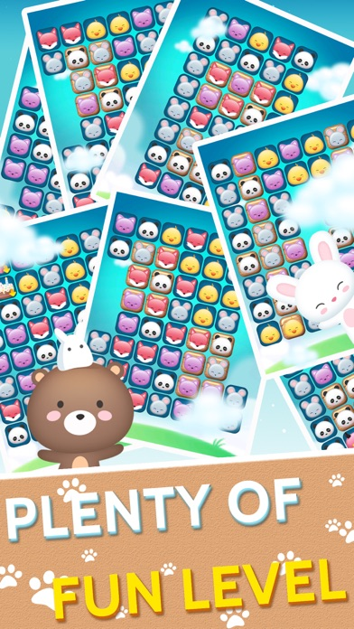 Screenshot for 动物消消乐园 - 萌宠快乐消消消 in Russian Federation App Store