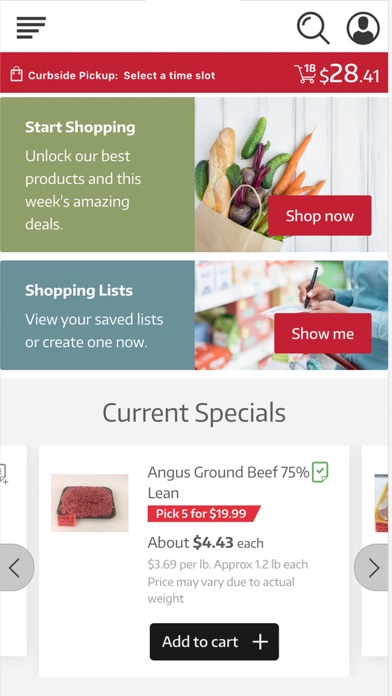 Lamb's Fresh Market screenshot 1