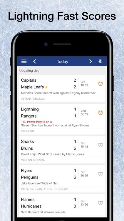 Scores App: Pro Hockey 2020