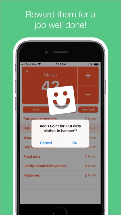 punti - chores tasks & rewards