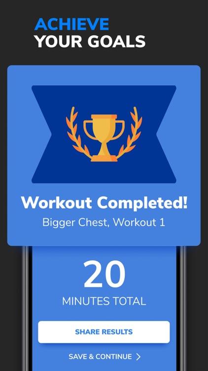 BetterMen: Fitness Planner screenshot-5