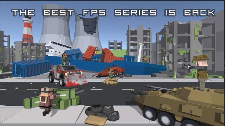 Block gun battle 3d