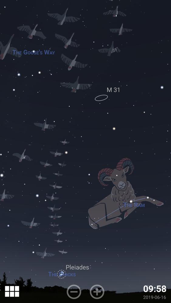 Stellarium Mobile PLUS Sky Map App for iPhone - Free Download