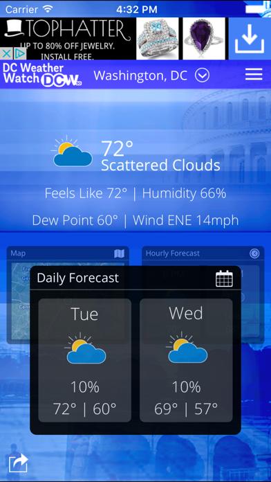 DCW50 - DC Weather Watchのおすすめ画像1