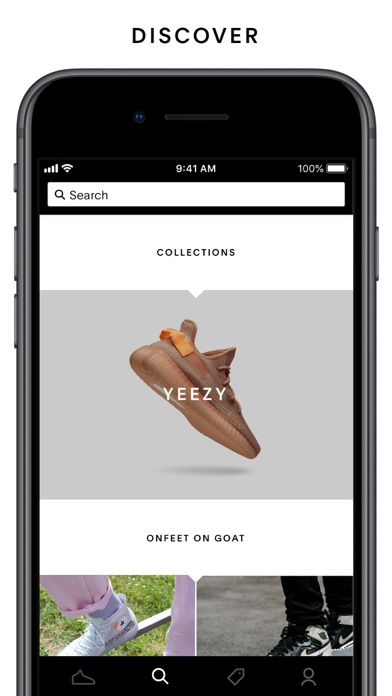 GOAT – Shop Sneakers by 1661, Inc  (iOS, United States