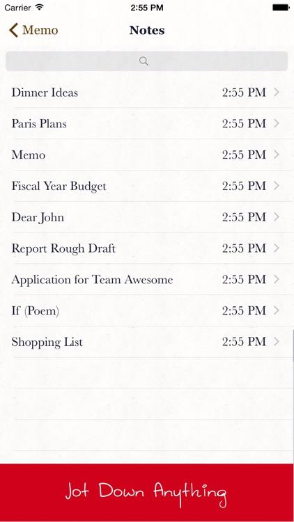 Memo Notepad screenshot-3