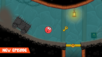 Screenshot from Red Ball 4 (Ad Supported)