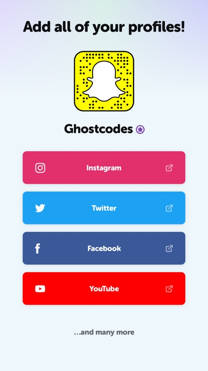 GhostCodes -Discovery for Snap