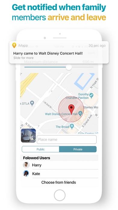 iMapp - Find my Phone, Friends Screenshot