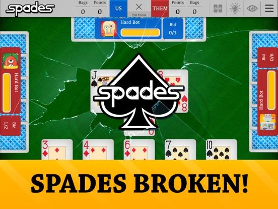 Spades - Free Card Game. Bid, trump and go nil! screenshot